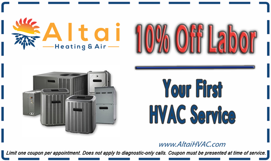 First HVAC Service Coupon