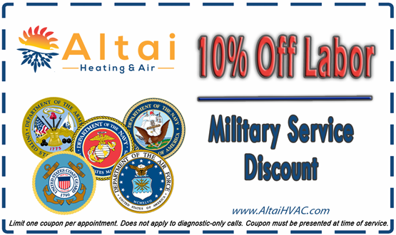 Military Service Coupon